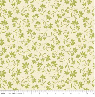 Serenata Petal -Green By Riley Blake Designs
