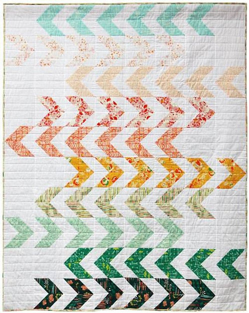 Emma Jean Jensen -- Meadow Tracks Quilt Pattern -- Creative Card Pattern only--B