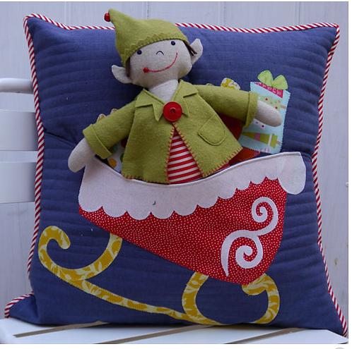 Elfie Jones & his Christmas Sleigh by Clair Turpin Designs