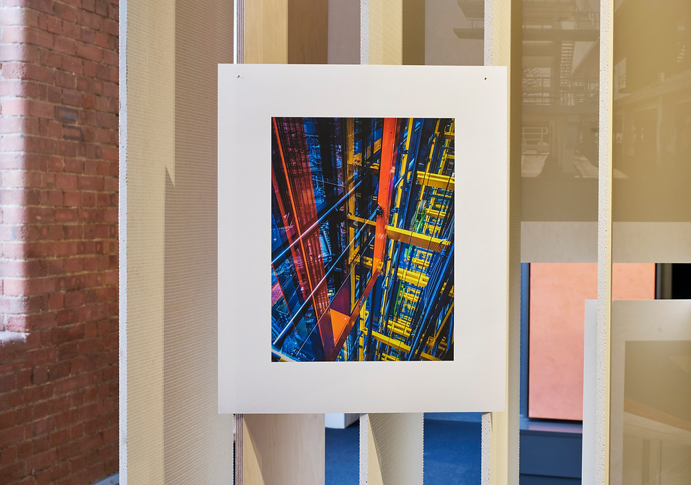 Mark's Abstract Image of the Leadenhall Lifts in the Building Images Exhibition
