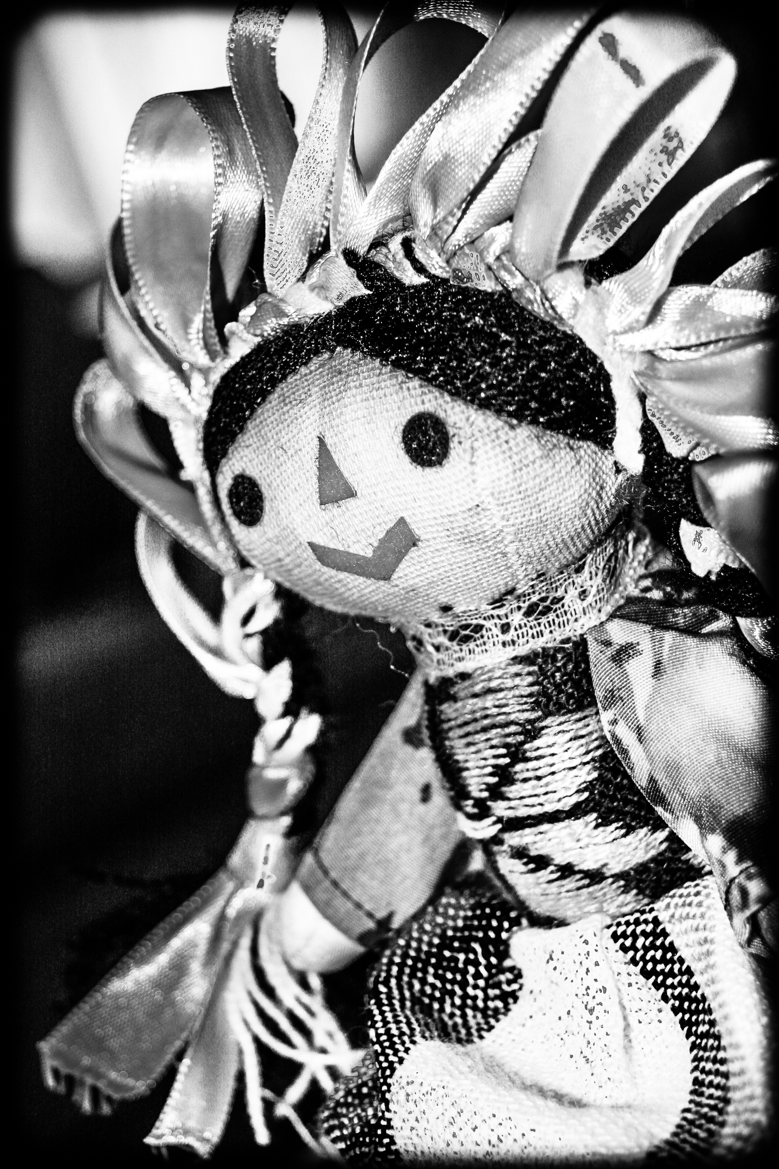 Traditional Mexican Mazahua Doll
