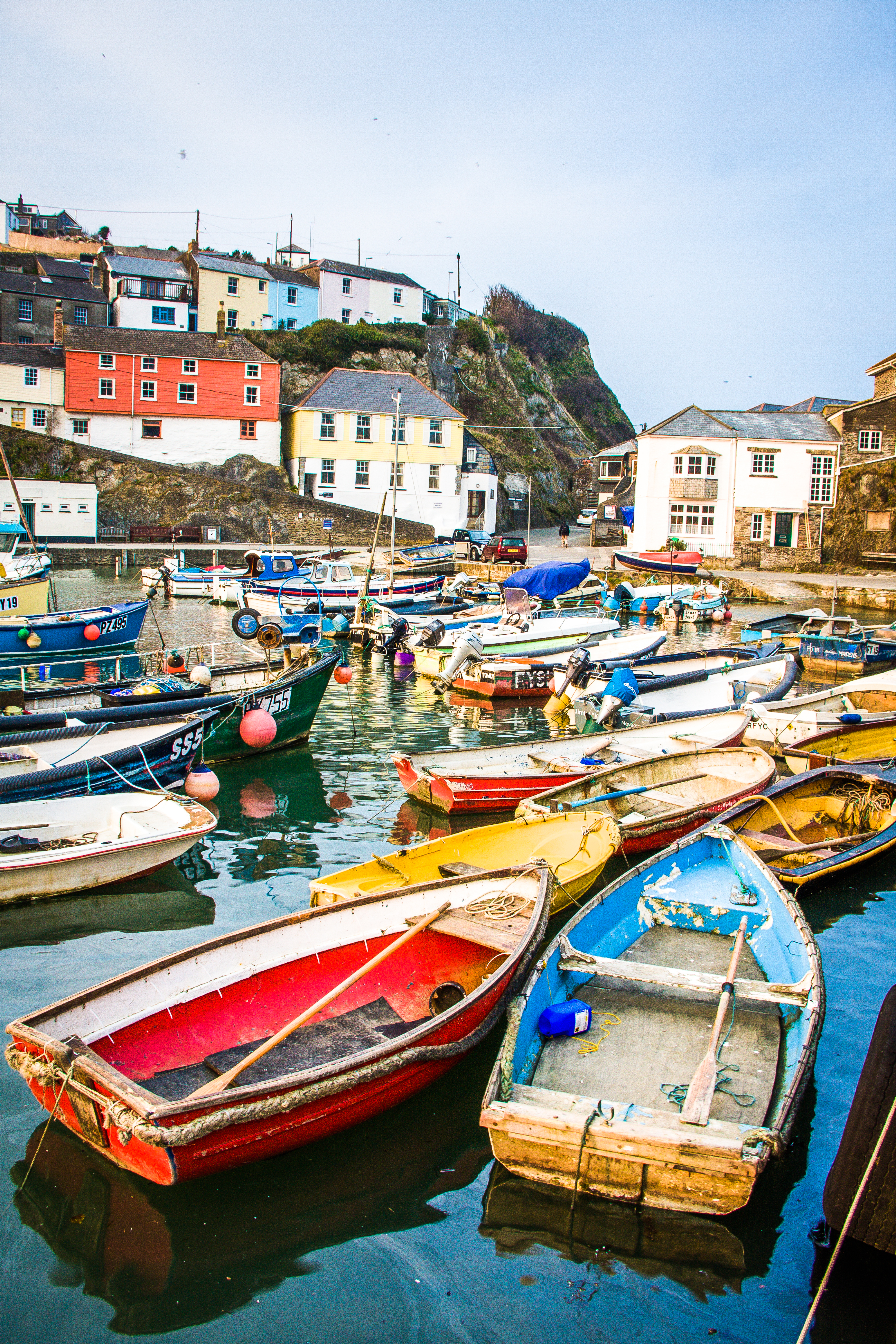 Mevagissey Harbour - Boats
