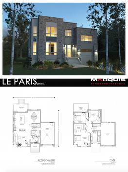 Marquis Inc. Modèle Paris A