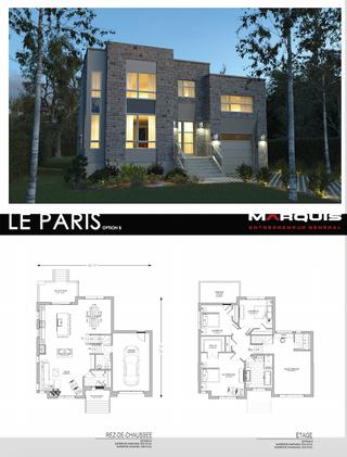 Marquis Inc. Modèle Paris B