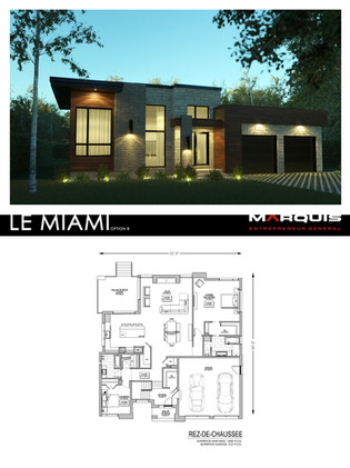 Marquis Inc. Modèle Miami