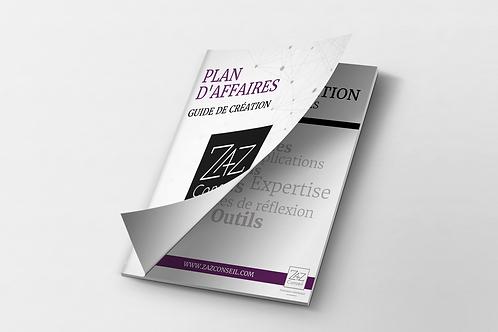GUIDE DE CRÉATION-Plan d'affaires | Inclut 1 heure de consultation