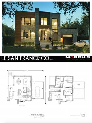 Marquis Inc. Modèle San Francisco