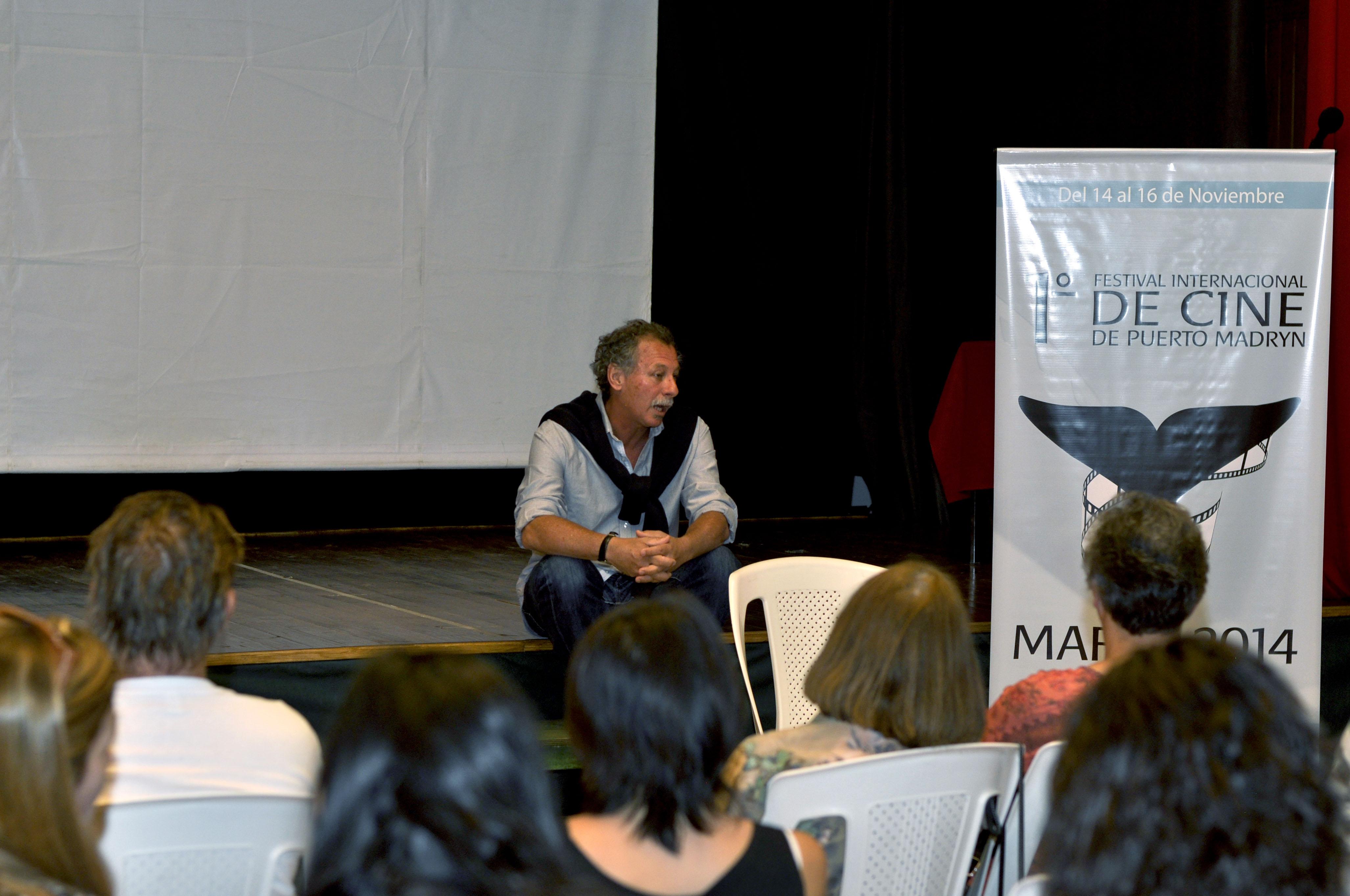 charla con Alberto Lecchi fot 1