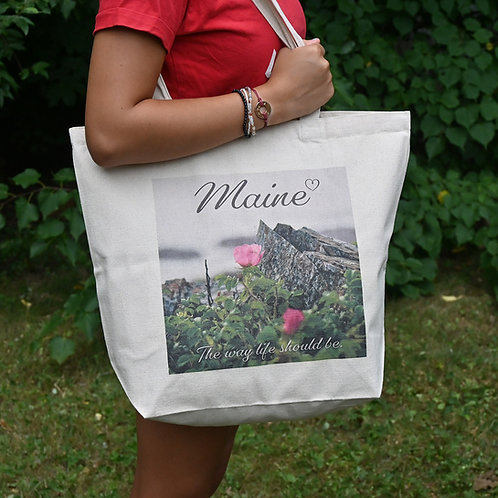 Maine - The Way Life Should Be Tote