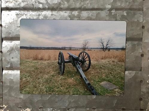 Canon on Gettysburg Field Magnet