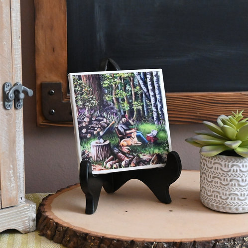 The Wood Cutter Coaster