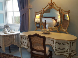 Dressing table bridal suite bedroom