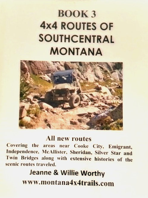4x4 Routes of Southcentral Montana