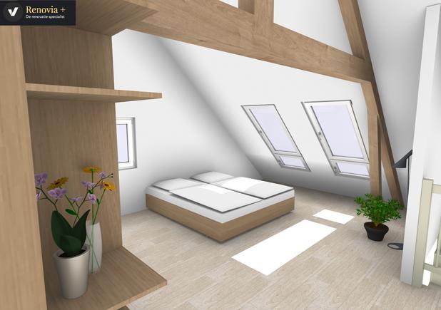 3 D zolder ontwerp @ Ramsdonk