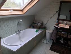 Badkamer Voor de werken @ Merchtem