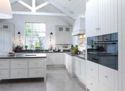 Keuken in Nieuwe aanbouw landelijke stij