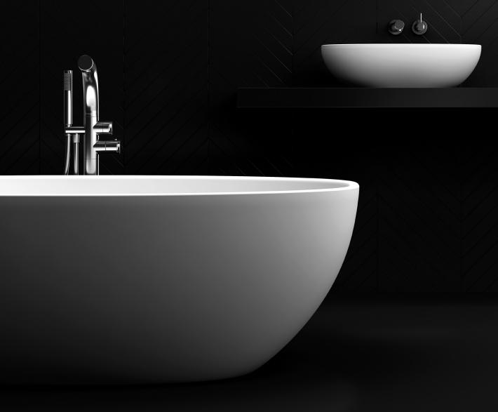 Freestanding bath 13.02.32