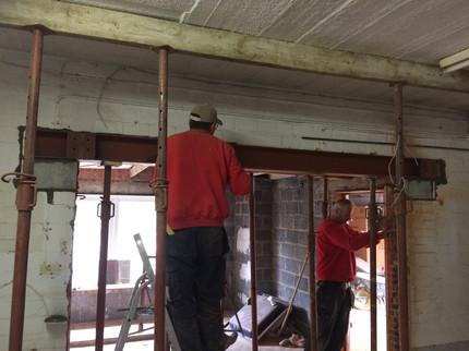 Renovatie gelijkvloers @ Boortmeerbeek