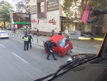 Нова сообраќајка кај зградата на ЕУ во Скопје