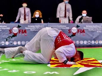 Македонскиот лав во таеквондо го победи светскиот првак на Олимпијадата во Токио