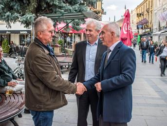 Градоначалникот на Прилеп даде поддршка од Широк Сокак за д-р Тони Коњановски