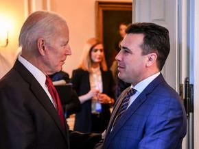Заев: Го поканив претседателот Бајден да дојде во Македонија, а тој кога кога ме виде знаеше дека...