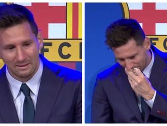 (ВИДЕО) Меси со солзи се прости од Барселона