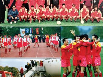 28 години од првиот натпревар на фудбалската репрезентација како независна Македонија – Словенија