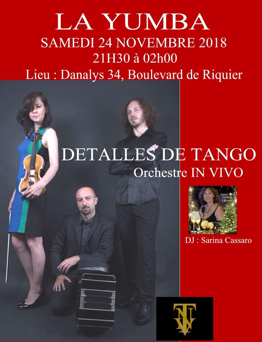 DETALLES DE TANGO orchestre