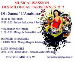 DJ Milongas Parisienne