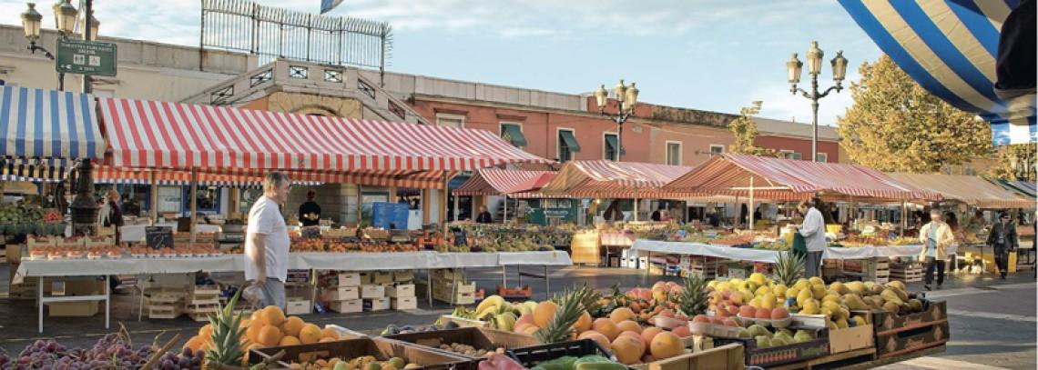 Le marché aux fleurs place Saleya