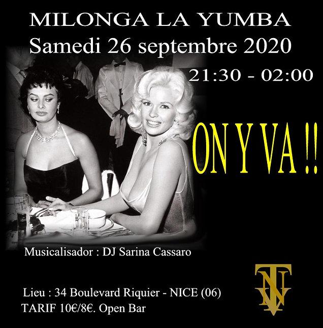 Milonga la yumba - Sofia et Jean Mensphi