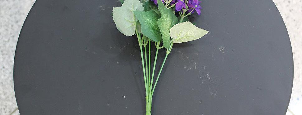 Букет полевых цветов, фиол, art.004-062