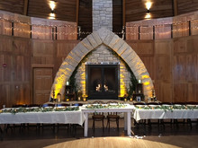 Head Table / Fireplace