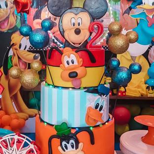 Bolo Turma do Mickey