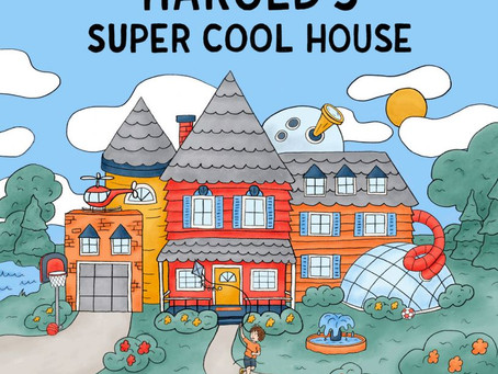 Family Book Club: Harold's Super Cool House