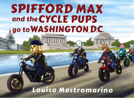 Family Book Club: Spifford Max and the Cycle Pups go to Washington D.C.