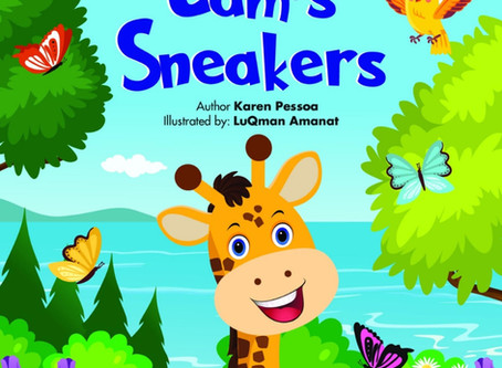 Family Book Club: Cam's Sneakers