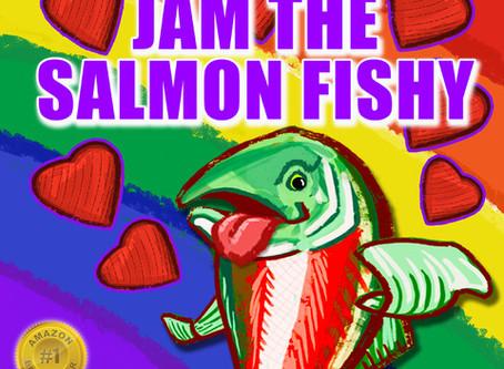 Family Book Club: Swishy Swishy Jam, the Salmon Fishy