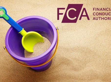 FCA sandbox application in!