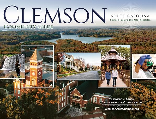 CLEMSON CHAMBER OF COMMERCE COMMUNITY GUIDE