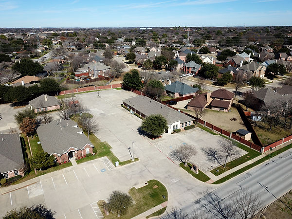 Unique aerial perspective to show the surroundings of your commercial property.