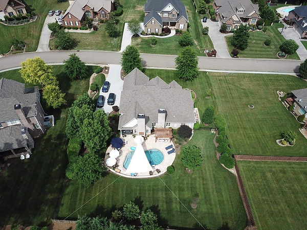 Aerial photographs to show your unique residential property.