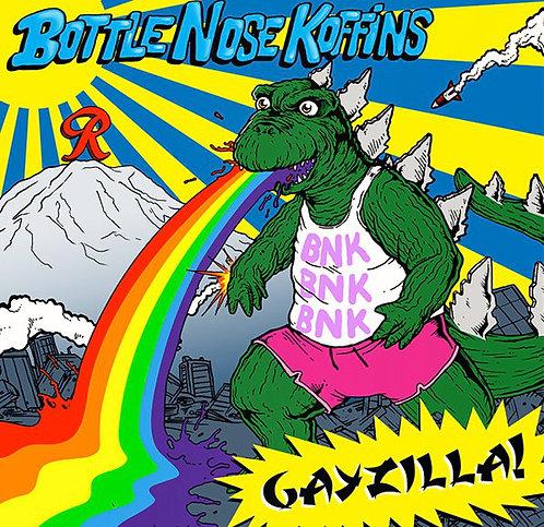 """Bottlenose Koffins """"Gayzilla!"""" CD"""