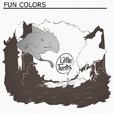 "Little Tents ""Fun Colors"""