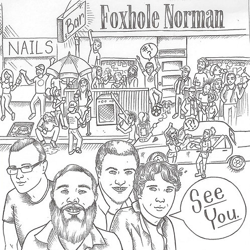 "Foxhole Norman ""See You"" 7 inch EP"