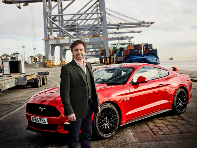The Grand Tour and the Ford Mustang hits the UK.