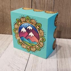 Original Mountain Mandala Plaque