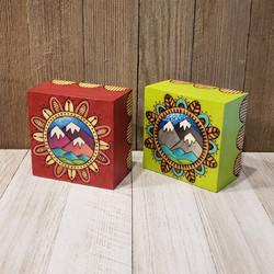 Original Mountain Mandala Plaques