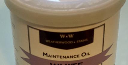 White Maintenance Oil Sealant